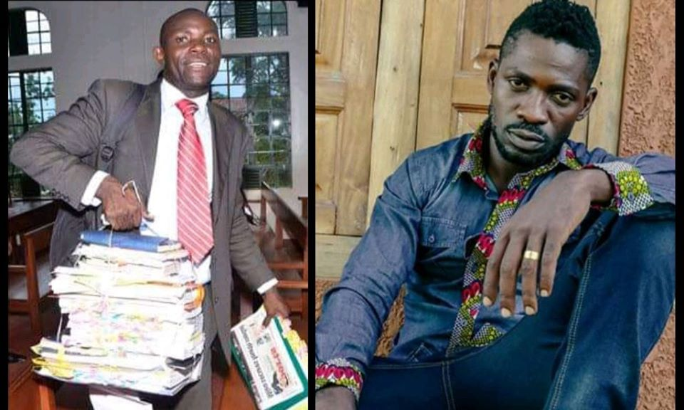 Bebe sasy Lawyer Mabirizi works for Bobi Wine